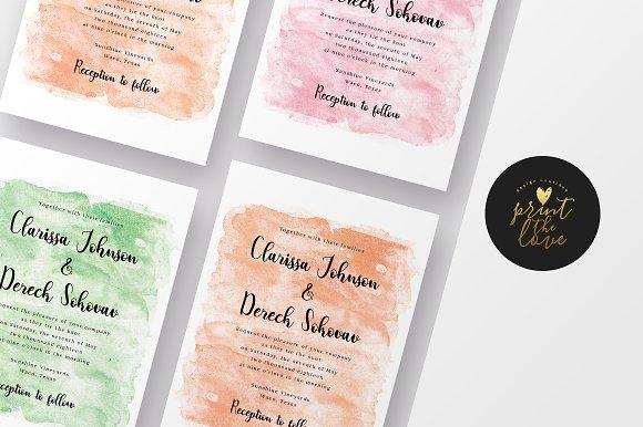 Wedding Invitation Clarissa