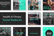Health & Fitness Social Media Kit
