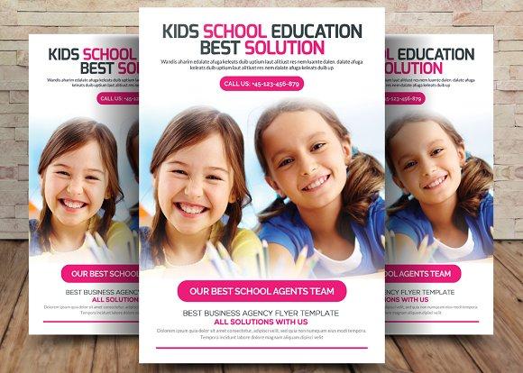 Kids School Education Flyer