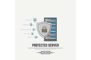 Server virus protection