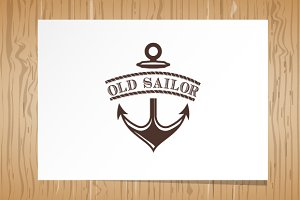 Old Sailor - Logo Template