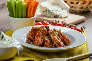 Chicken hot wings