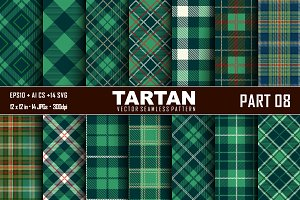 Seamless Tartan Pattern Part -08