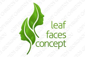 Leaf Faces Concept