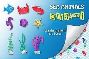 Sea Animals Origami