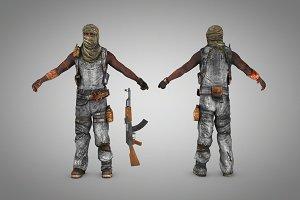 Terrorist (Somali pirate)