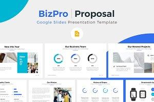 BizPro. Google Slides Template +Gift