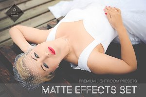 Matte Effects Set by Woden Presets