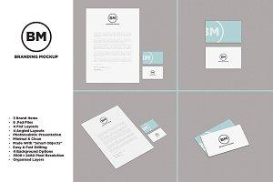 [-30%]Clean Branding/Identity Mockup