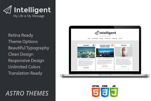 Intelligent - WordPress Blog Theme
