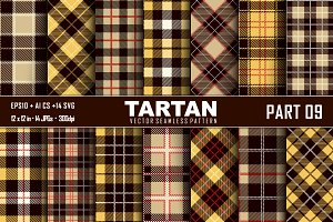 Seamless  Tartan Pattern Part -09