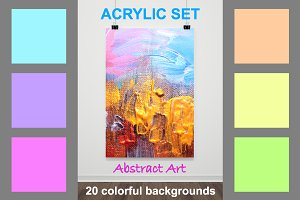 20 Acrylic Painting Artworks