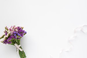 Styled photo - flowers