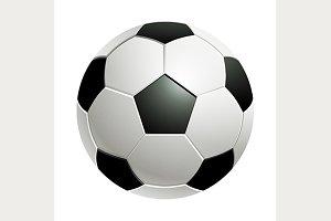 Football / Classic soccer ball.