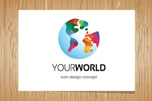 Your World logo - Logo Template