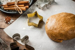 Cooking chritmas baking