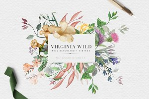 Virginia Wild - Watercolor Duo Pack