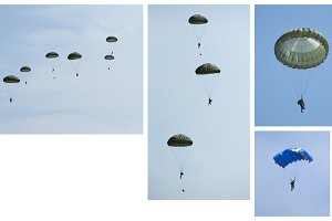 Paratroopers, Group and independent