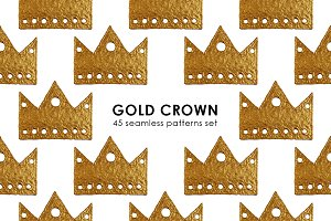 GOLD CROWN patterns.