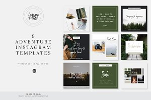 Adventure | Instagram Template Pack