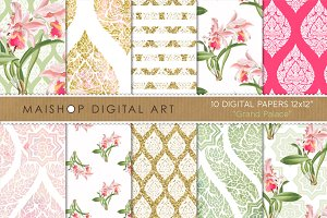 Digital Paper - Grand Palace