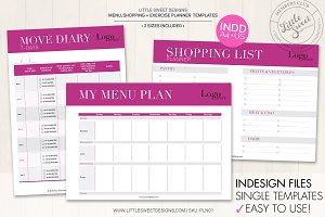 Menu, Shopping & Exercise Planner