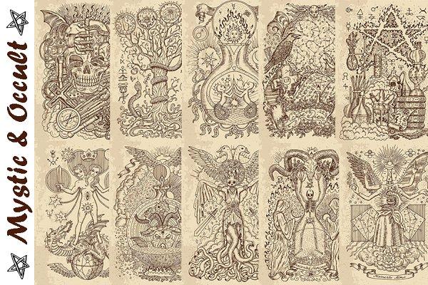 Occult illustrations