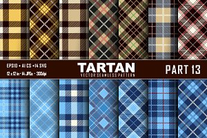 Seamless  Tartan Pattern Part - 13