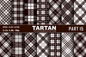 Seamless  Tartan Pattern Part - 15