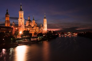 Basilica Our Lady of Pilar.Zaragoza