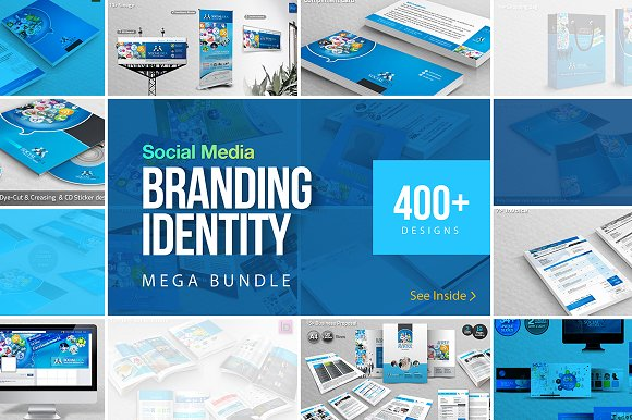 Social Media Branding ID Mega Bundle