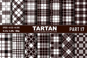 Seamless  Tartan Pattern Part - 17
