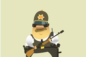Policeman.