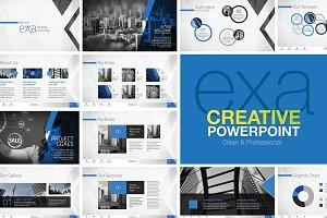 Exa | Minimal Creative PowerPoint