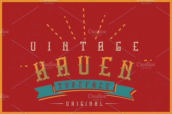 Haven Label Font