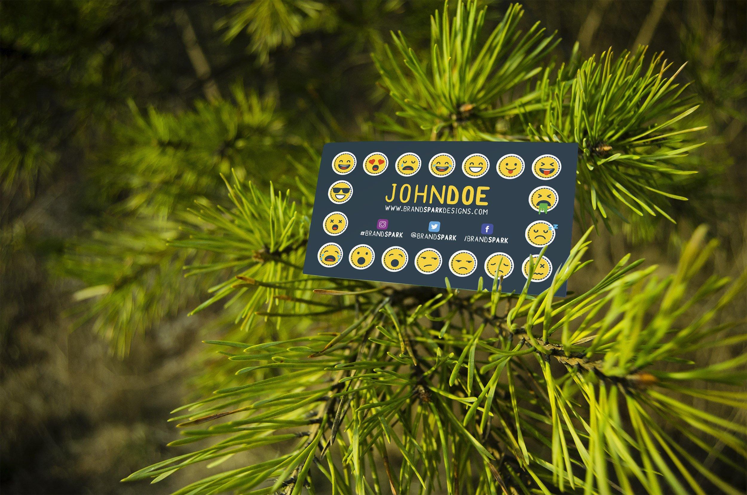 Business card mockup tree product mockups creative market magicingreecefo Choice Image