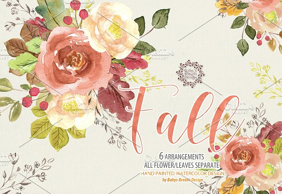 Watercolor Fall Design