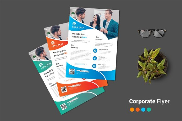 Corporate Flyer-Graphicriver中文最全的素材分享平台