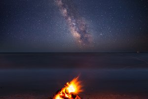 Fire and Star