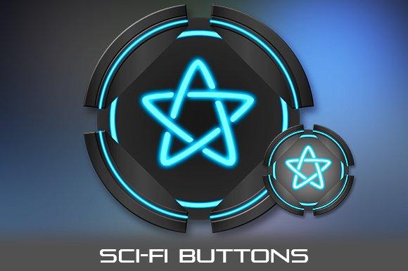 Sci-Fi Buttons