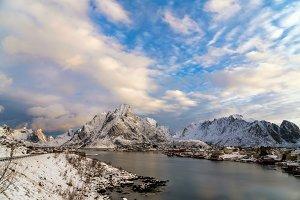 Landscape of Traditional Norwegian