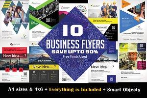 10 Business Flyer Bundle Vol: 02