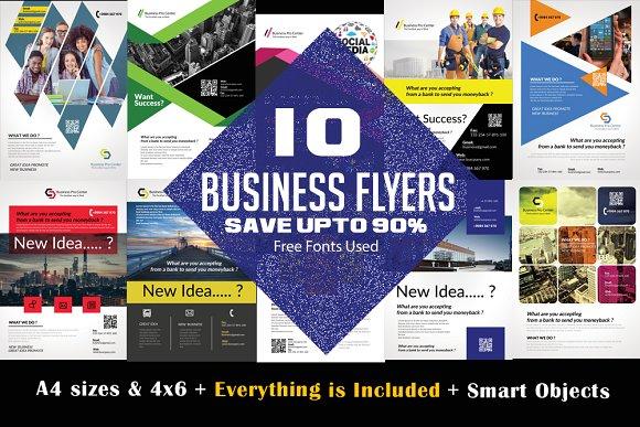 10 Business Flyer Bundle Vol 02