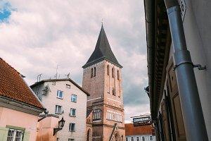 Old town Baltic church