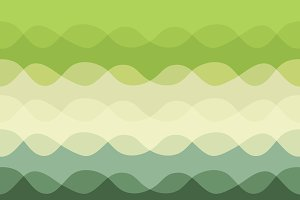 Abstract pattern, green gray waves