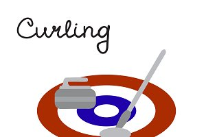Curling game elements