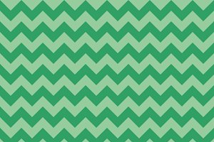 Chevron pattern green