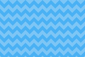 Chevron pattern blue