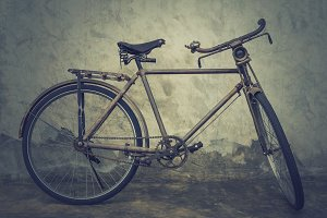 Vintage and classic bicycle