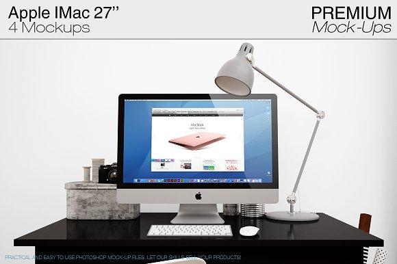 Apple IMac 27'' Mockups